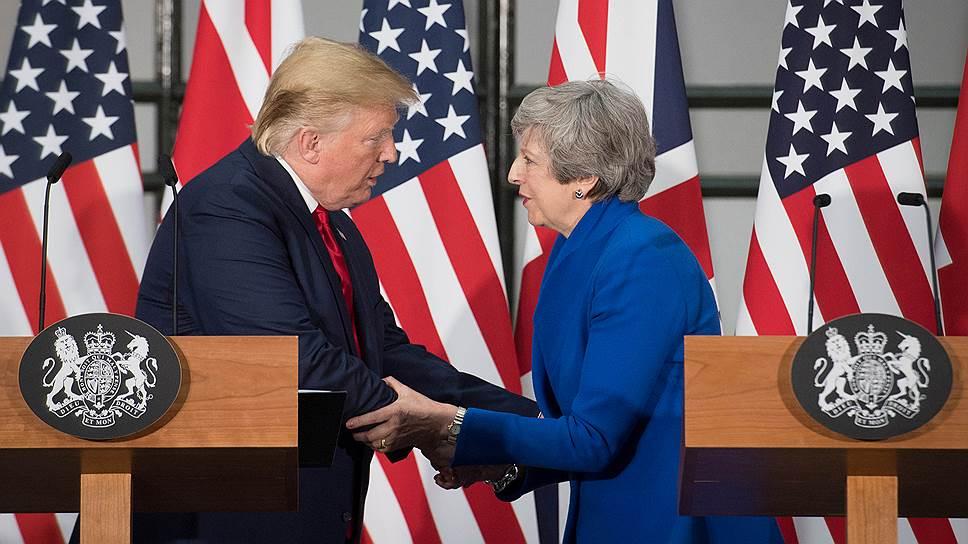 Почему визит президента США в Лондон рассорил евроатлантических союзников