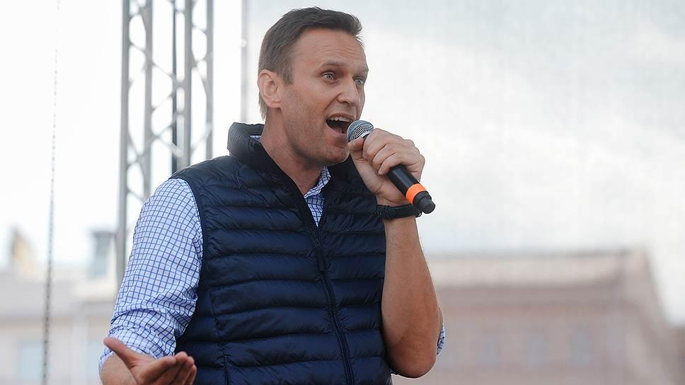 Какие условия поединка с Викторым Золотовым назвал Алексей Навальный