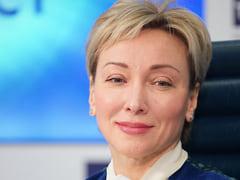 Ольга Скоробогатова, первый зампред ЦБ, на презентации стратегии развития национальной платежной системы 14 апреля