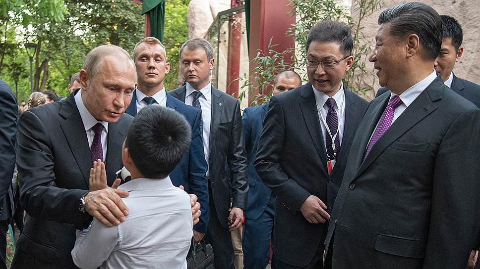 Как Владимир Путин лицом к лицу встретился с мягкой силой Китая