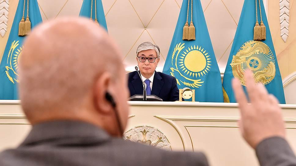 Как президент Казахстана продемонстрировал полнокровность