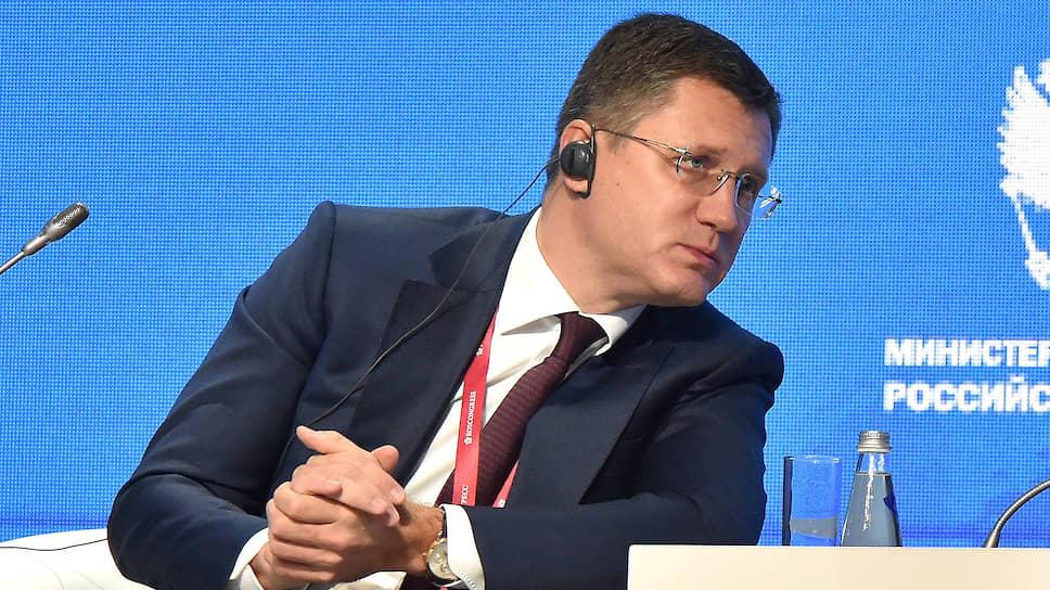 Александр Новак, министр энергетики РФ, 22 октября