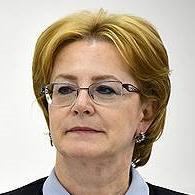 Вероника Скворцова, глава Минздрава РФ, в апреле 2018 года