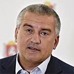 Сергей Аксенов,  глава Крыма, в эфире «России 1» в мае 2018 года
