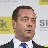 Премьер-министр  Дмитрий Медведев в апреле 2018 года