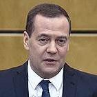 Дмитрий Медведев, премьер-министр РФ, в январе 2019 года