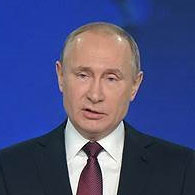 Владимир Путин, президент РФ, 19 апреля 2017 года