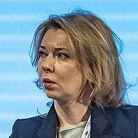 Елена Бурмистрова, зампред правления «Газпрома» и глава «Газпром экспорта», 18 июня