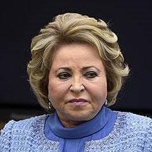 Валентина Матвиенко, спикер Совета федерации, 4 марта