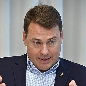 Олег Харитонов, гендиректор Diageo в России, в декабре 2019 года