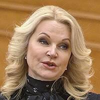 Татьяна Голикова, вице-премьер, в январе, «Интерфакс»