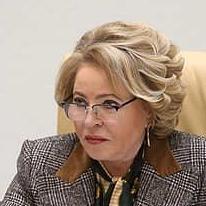 Валентина Матвиенко, спикер Совета федерации РФ, 27 января