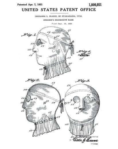 Первый защитный костюм против инфекции был придуман в 1619 году французским медиком Шарлем де Лормом. Одеяние, включавшее в себя характерную маску с длинным клювом, куда закладывались благовония, было изготовлено из кожи, пропитанной воском. Предполагалось, что подобная мера позволит избежать заражения.