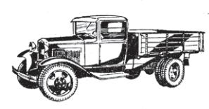 «Полуторка» ГАЗ-АА и «трехтонка» ЗИС-5 были основными советскими грузовиками тридцатых годов, наверняка именно они составляли автопарк Выборгского районного треста общественного питания, обслуживающего окрестные столовые.