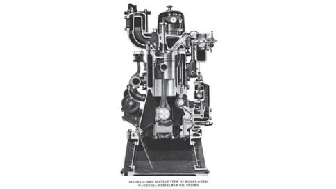 Еще в 1906 году Хессельман изобрел реверсивный механизм для судовых дизелей, адаптировав детище Рудольфа Дизеля ко всем этим морским «полный вперед», «полный назад». К слову, четвертый по счету такой двигатель приобрел Руаль Амундсен для своей антарктической экспедиции, его знаменитый «Фрам» стал первым полярным кораблем с дизельной, а не паровой машиной.
