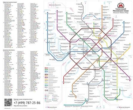Студия Артемия Лебедева победила в конкурсе на лучшую схему московского метро.