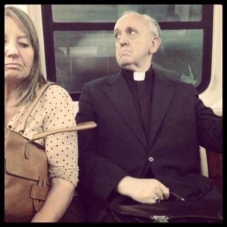 Аргентинский кардинал Хорхе Марио Бергольо - новый Папа Римский Фото: Hostaria Antica Roma/Facebook