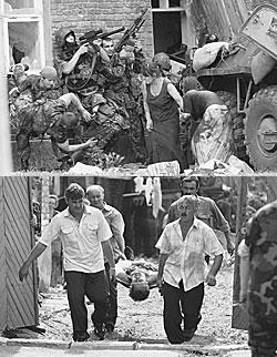Штурм был настолько спонтанным, что число жертв не могут подсчитать до сих пор
