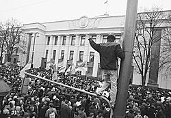 Сторонники Виктора Ющенко заявили, что не намерены покидать улицы Киева до полной победы