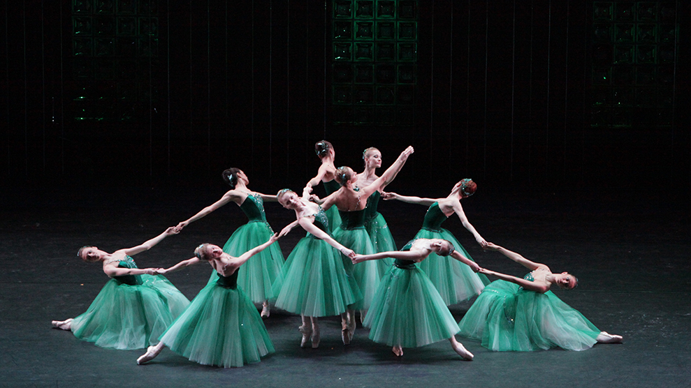 "Сцена из балета ""Драгоценности"""