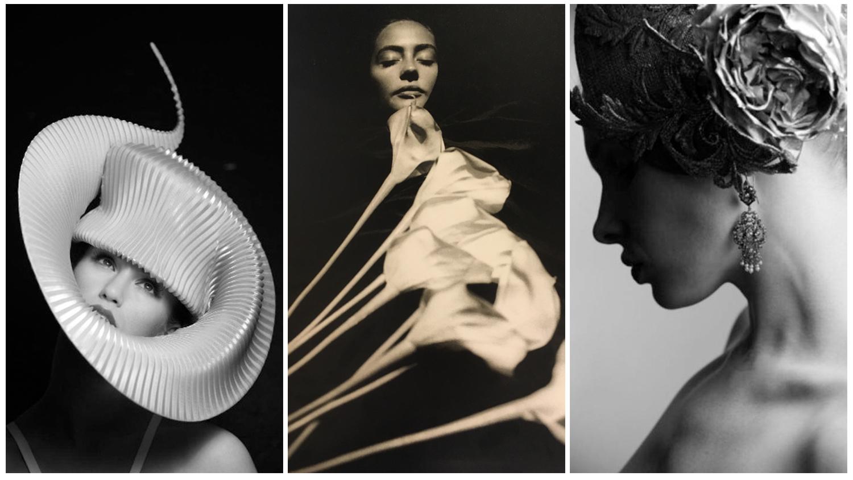 Саша Гусов.  Слева: «Эми Виллертон», Лондон, 2012. По центру: «Джульетта из Ромео и Джульетты», 1990-е. Справа: «Филип Треси», Лондон, 2013