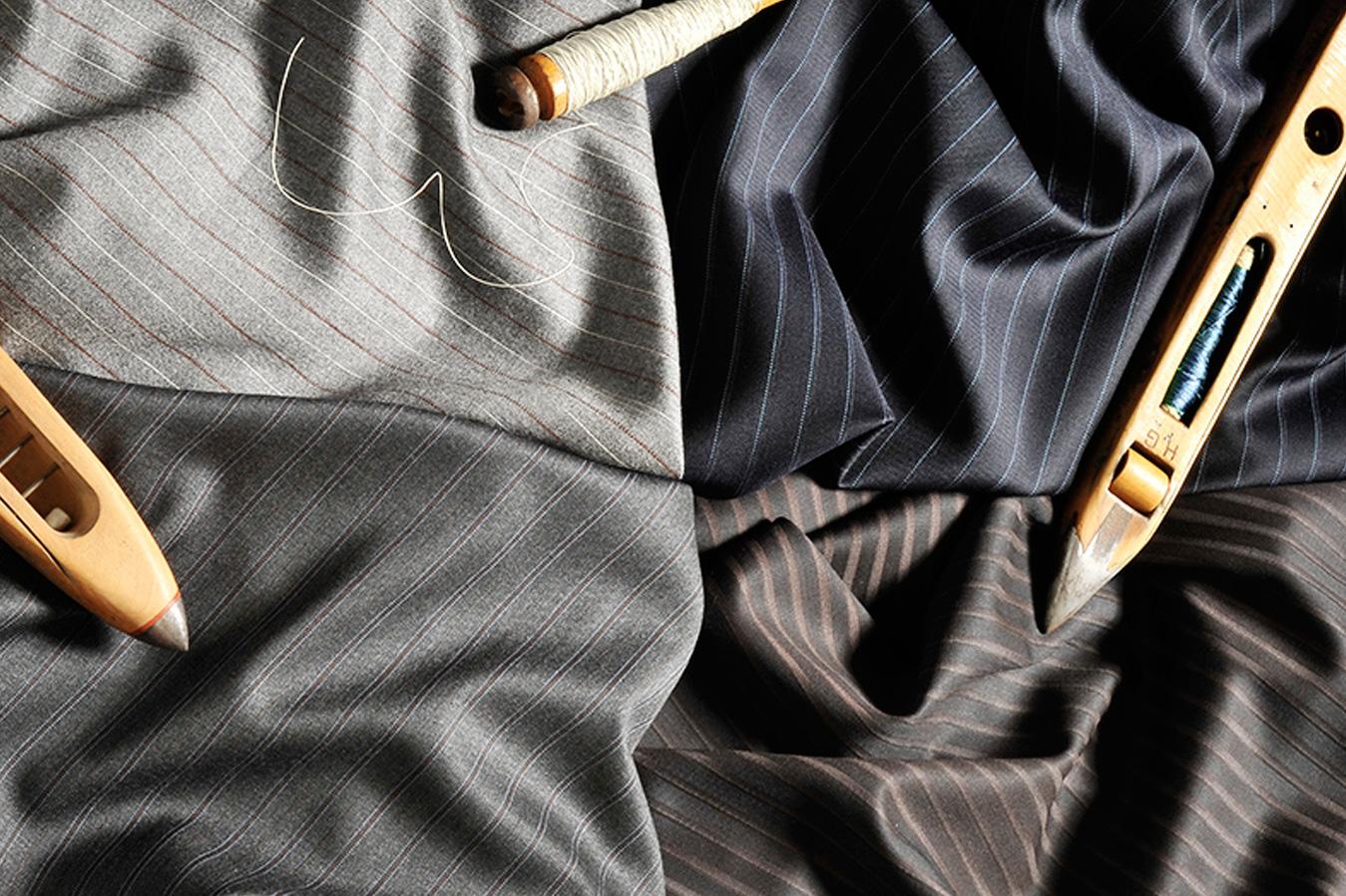 Шерстяные ткани производства фабрики REDA