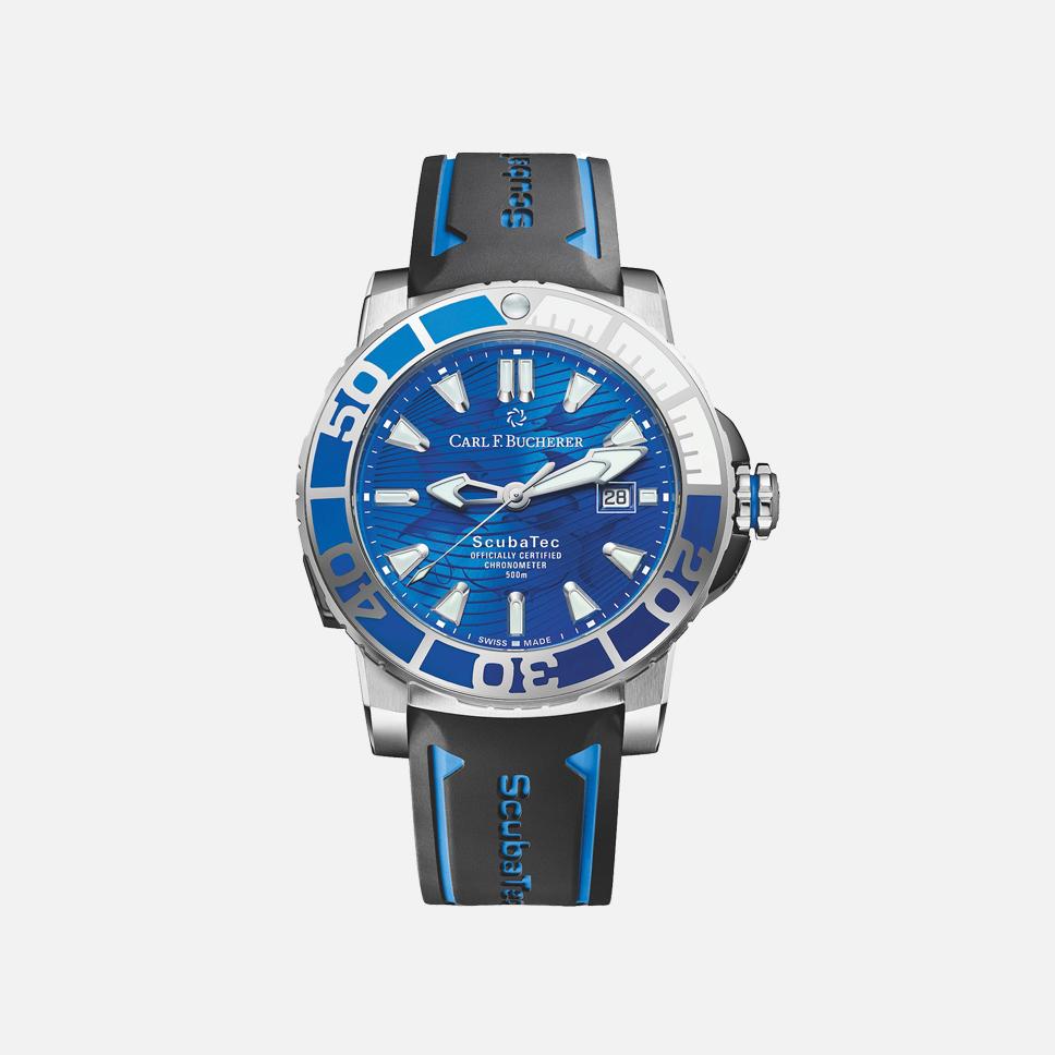 Carl F. Bucherer, часы Patravi Scubatec Only Watch 2019
