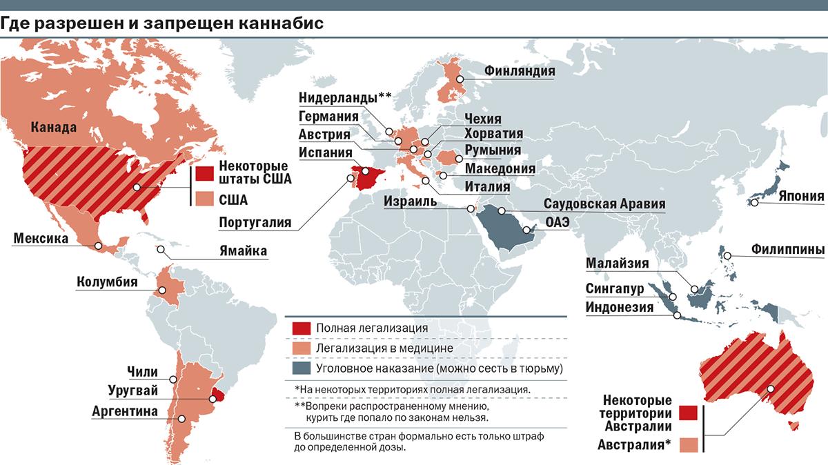 Когда разрешат легализацию конопли россии опасно ли курение конопли