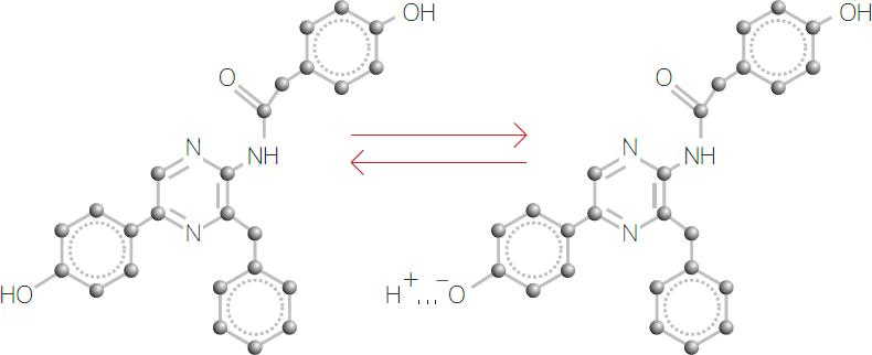 Рис. 1. Химическая структура молекулы целентерамида