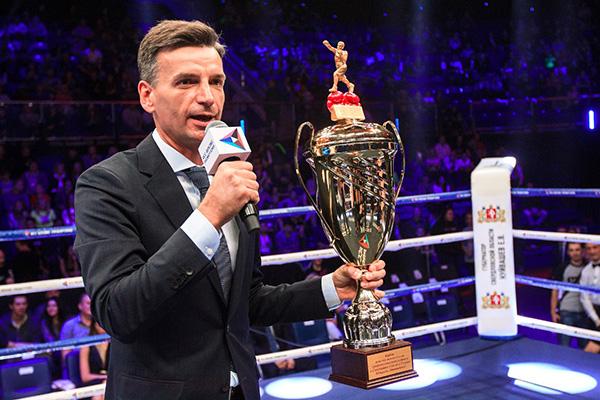 Михаил Денисов председатель Евразийской федерации профессионального бокса