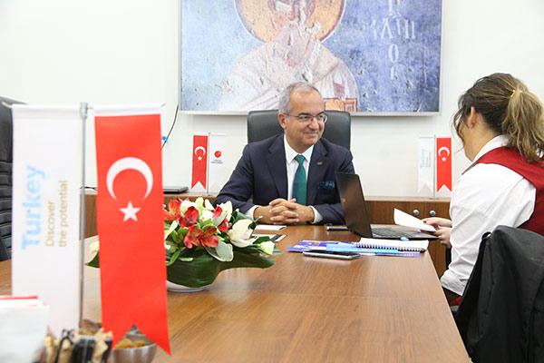 Кутлу Каравелиоглу, председатель правления Ассоциации экспортеров машиностроительной продукции Турции