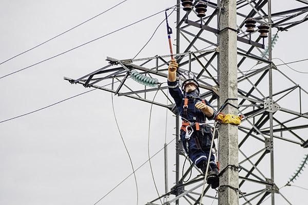 Работы на воздушных линиях электропередачи