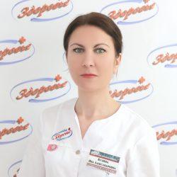 Кузина Яна Александровна — старшая медицинская сестра