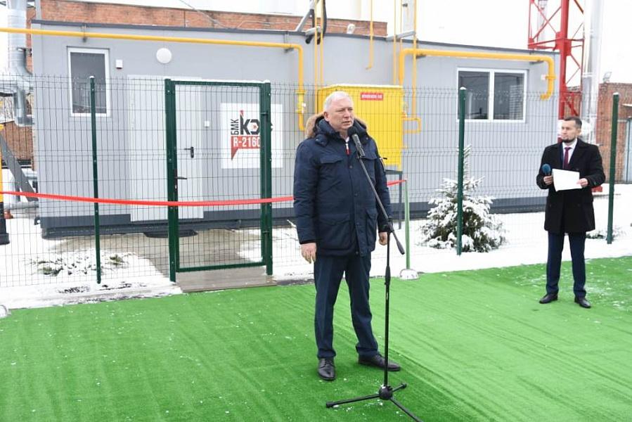 Анатолий Вороновский: «Открытие новых котельных в регионе – результат совместной работы власти и бизнеса».