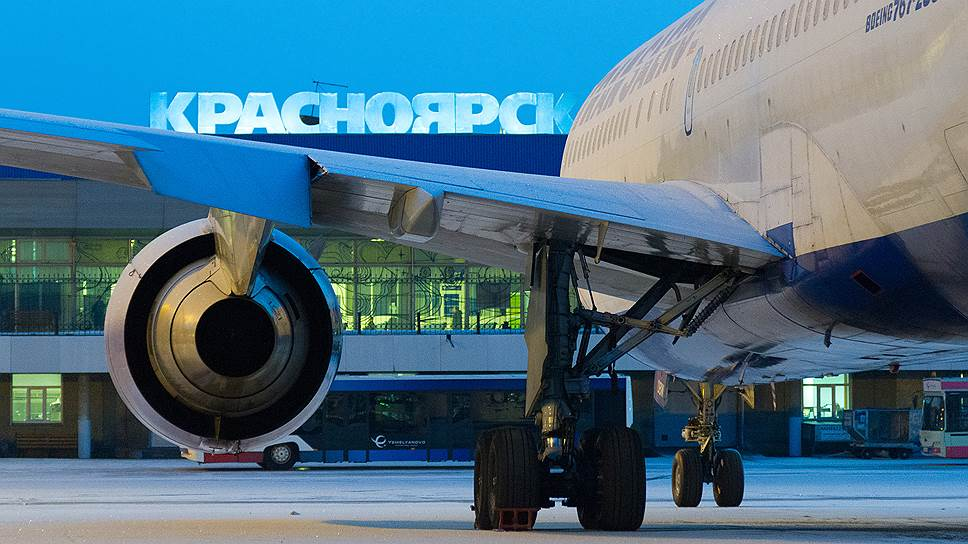 Емельяново отключили от Красноярской ГЭС / Развитием аэропорта займется «КрасИнвест»