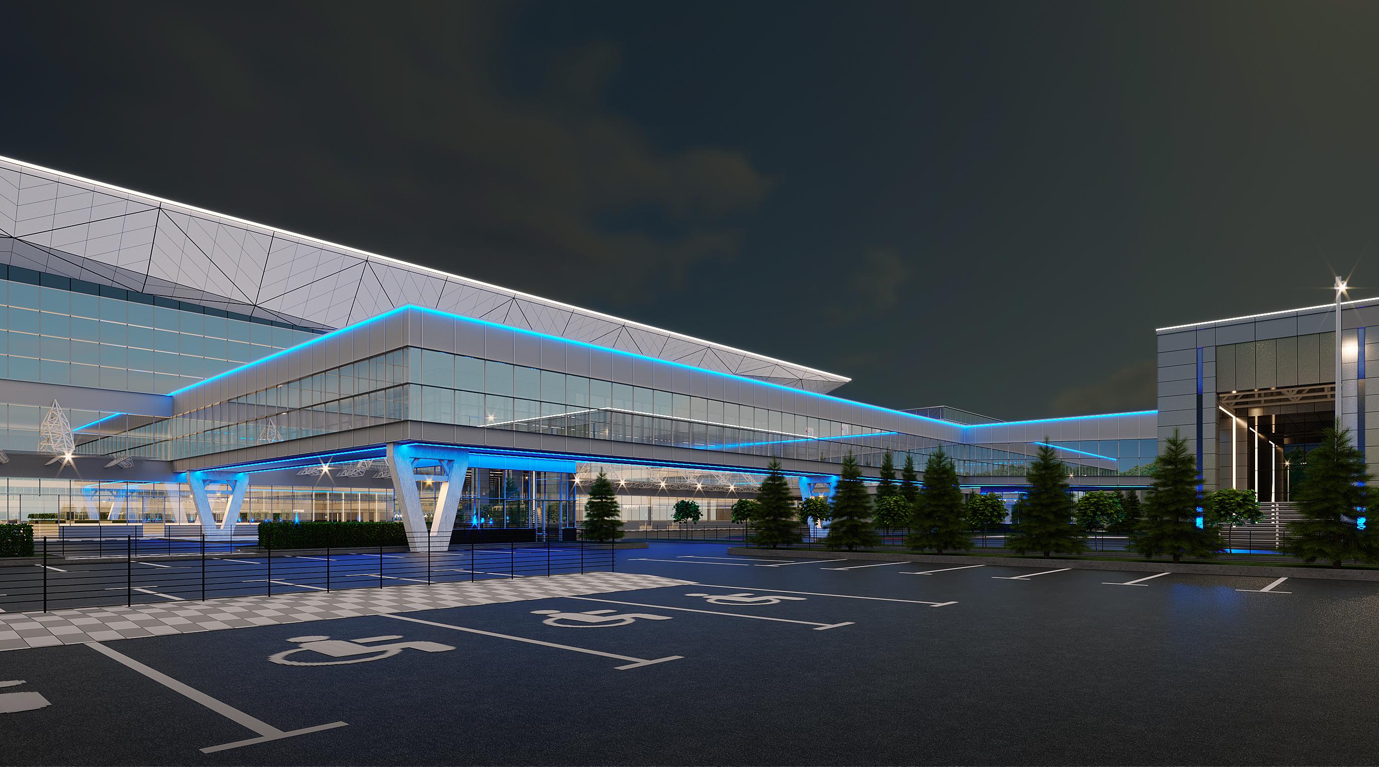 Проект переходной галереи между Терминалом 1 и деловым центром