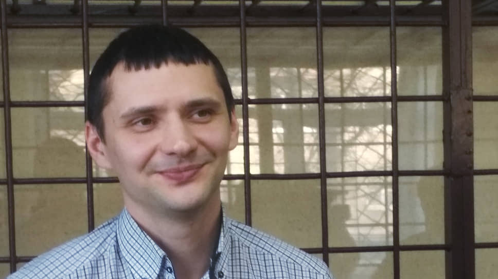Бывший оперуполномоченный Вадим Белов