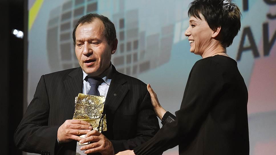 В 2018 году Игорь Каляпин получил премию Егора Гайдара за свою правозащитную деятельность