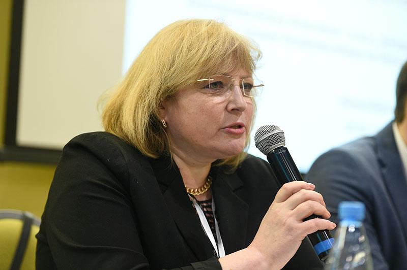 Руководитель территориального органа Росздравнадзора по Новосибирской области Елена Хрусталева