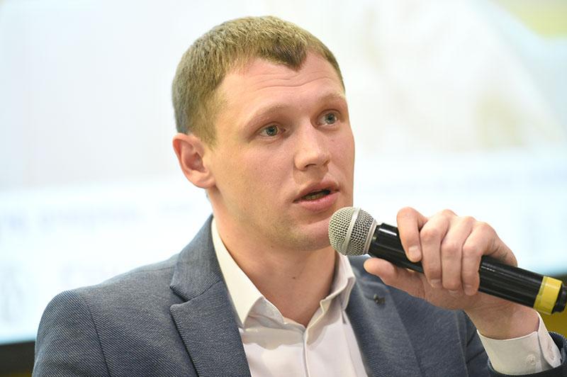 """Исполнительный директор АО «УК """"Биотехнопарк""""» Денис Кузьмин"""