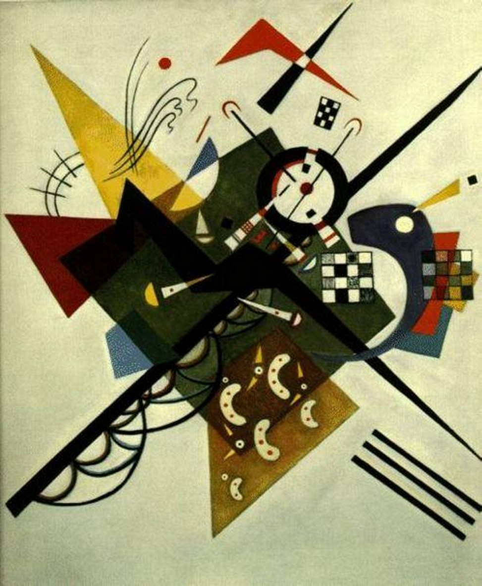 В.Кандинский 'На белом II' (1923 г.)