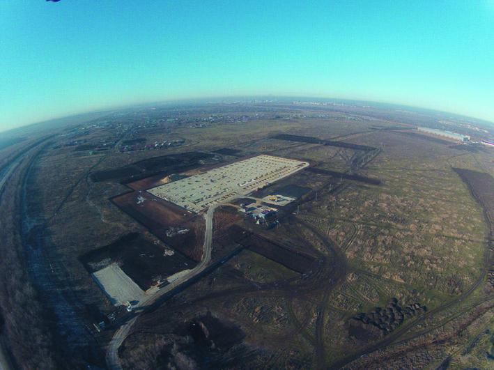 Индустриальный парк «Преображенка» создается в Волжском районе вблизи южной границы Самары на территории общей площадью около 100 га