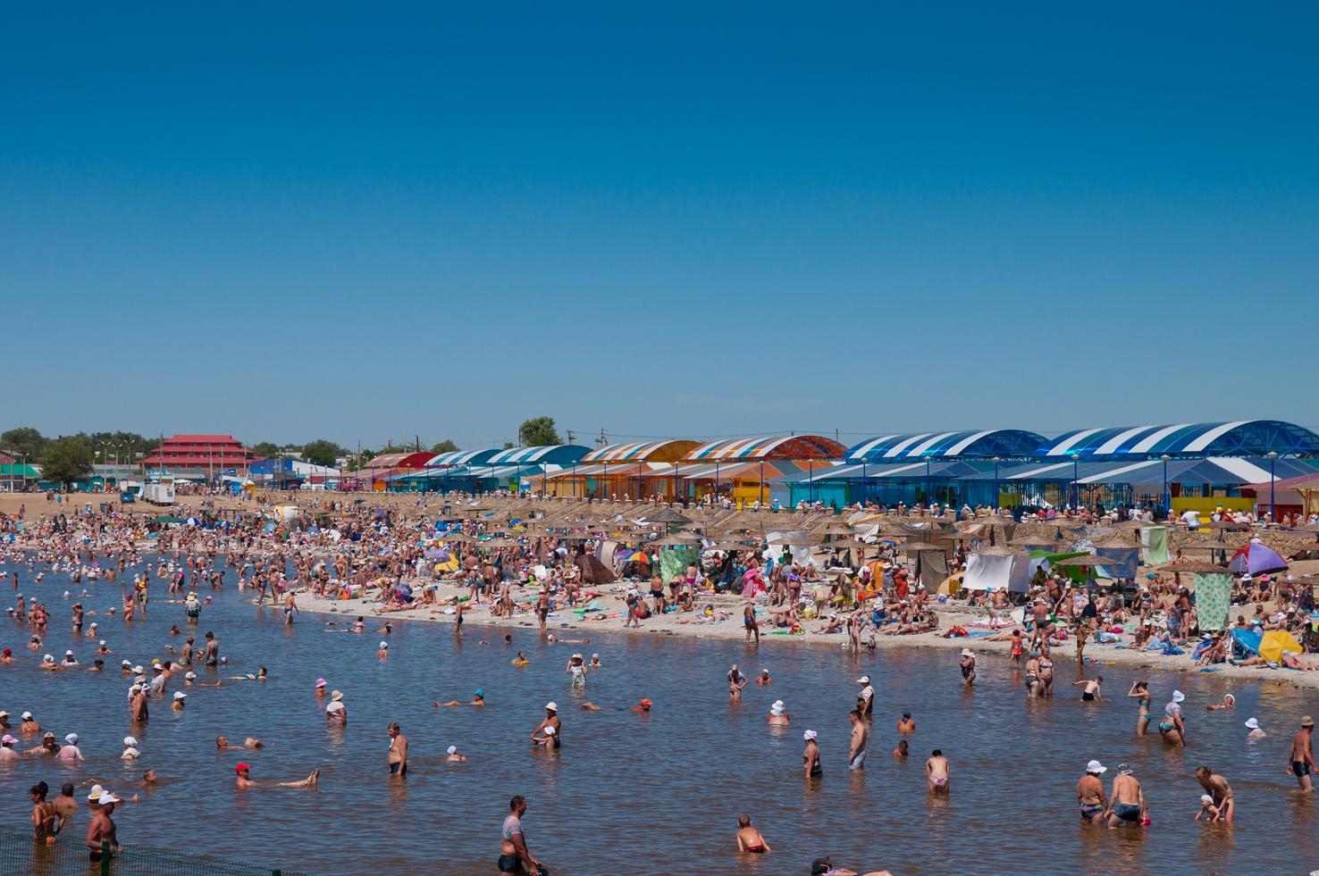 Курорт Соль-Илецка ежегодно посещают сотни тысяч туристов