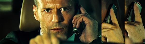"""Кадры из фильма """"Перевозчик"""" с телефоном Nokia 8910 в руках у Стетхема"""