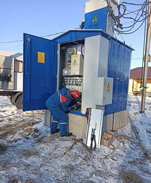 Работы по модернизации сетей в мкр. «Кузьминки Вилладж» с. Иглино