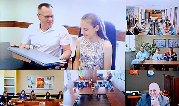 Церемония очно-заочного награждения призеров конкурса детского творчества в группе компаний АО «БЭСК»
