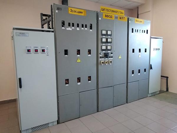 Смонтированные новые УЗП на щите постоянного тока на ПС «Новая»