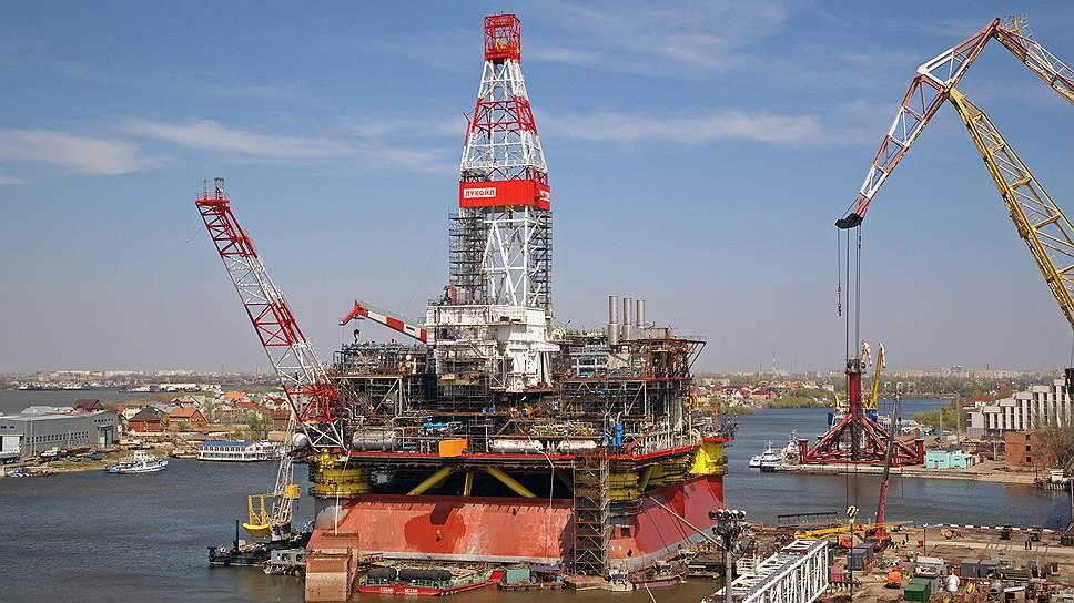 В 2014 году Астраханские судостроители успешно реализовали ряд крупных проектов на шельфе Каспийского моря