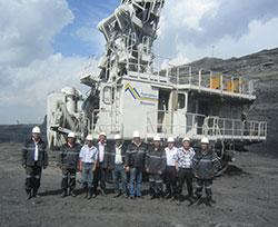 Практическая конференция, которую специалисты «Рудгормаша» проводили в Хакасии для угольщиков.