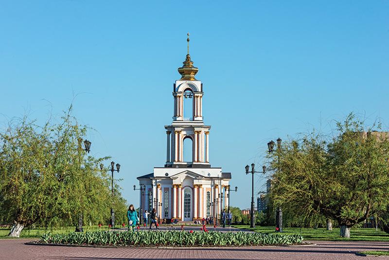 Храм святого Георгия Победоносца на мемориальном комплексе «Курская дуга»